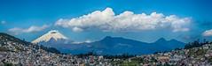 Cotopaxi Volcano Viewed From Quito (Quito, Ecuador. Gustavo Thomas © 2017) (Gustavo Thomas) Tags: cotopaxi volcano volcán quito mountains montañas nayure naturaleza vista view landscape paisaje bluesky cieloazul pano panorámica panorama clouds nubes ecuador travel voyage viaje