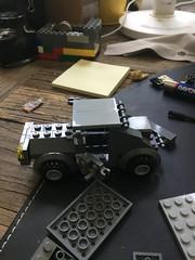 For those of you that thought I wasn't gonna build an apocalypse car well...... SURPRISE!!!!!!!!!! 😀😀 (billwang6) Tags: legomilitary military lego customlego custom vehicle car apocalypse