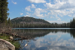 First look at Lower Twin Lake (rozoneill) Tags: lassen volcanic national park wilderness redding chico california hiking pacific crest trail backpacking cascades volcano peak