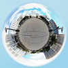 Canary Wharf 5th August 2017 (13 of 26) (johnlinford) Tags: canarywharf gopro goprohero4 goprohero4silver landscape london londondocklands onecanadasquare panorama polarcoordinates rogeti towerhamlets urban urbanlandscape