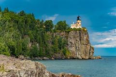 Split Rock Lighthouse (shawn_christie1970) Tags: lakesuperior northshore splitrock minnesota silverbay statepark stormclouds summer greatlakes