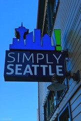 Simply Seattle (SonjaPetersonPh♡tography) Tags: seattle washington washingtonstate stateofwashington downtownseattle simplyseattle buildings towers cityscape sign