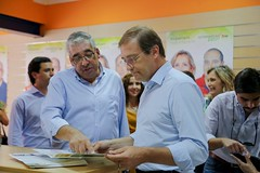 Autárquicas 2017: Pedro Passos Coelho em Reguengos de Monsaraz