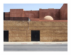 doors.4 (mathieu.forcier) Tags: morocco marrakech door street minimalism minimal simple banal facade building architecture emptiness empty contemporary