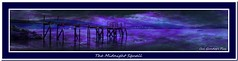 The Midnight Squall (Oul Gundog) Tags: holywood jetty belfast lough midnight squall dark night northern ireland ulster