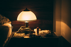 Evening Light (Lucas/mmetry) Tags: lucasymmetry evening night nightlights nightphotography nightshoot nightshots lamp bulb mood room raw ishootraw hotel hostel hotelroom canon canonphotography canonphotos canoneos 50mm 50mm18stm 50mmlens bestdslr bed bedroom bedroomstories emptyness empty melancholy indoor artistsonflickr artistsoninstagram artists art flickrcool flickrbest