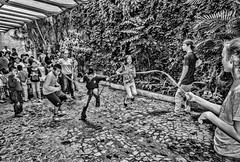 A jump rope tangle (Pejasar) Tags: students fun tangle jumprope escuelaintegrada guatemala antigua