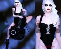 Mix & Match (nadja.baxter) Tags: treschic secondlife ncore rama avenge lelutka maitreya bauhaus glamaffair nanika a americanbazaar fashion cello