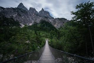 Suspension Bridge Berchtesgaden