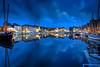 Stormy Harbor (hapulcu) Tags: bluehour france francia frankreich frankrijk fransa honfleur normandie normandy dusk harbor ocean primavera printemps spring storm