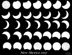 2017 Eclipse - New Mexico version (Dave Arnold Photo) Tags: nm nmex newmex newmexico loslunas solar eclipse mountains range desert storm stormy thunderstorm thunder image pic us usa picture severe photo photograph photography photographer davearnold davearnoldphotocom daytime sun scenic cloud rural party summer badweather top wet daylight canon 5d mkiii 100400mm huge big valenciacounty explosion landscape nature outdoor weather cloudy sky cloudburst season southwest solareclipse totality total sequence monochrome blanandwhite blackwhite bw