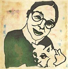annisacyau : Annisa Au (chartan) Tags: brushes mokuhanga ipad digital portrait jkpp