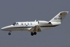 Audeli CitationJet EC-HVQ BCN 08/07/2006 (jordi757) Tags: airplanes avions nikon d100 bcn lebl barcelona elprat cessna c525 citation citationjet cj1 audeli echvq