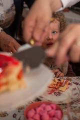 Le partage (patrick Thiaudiere, thanks for 1,25 million views) Tags: partage share flickrfriday gateau cake food oeil eye part assiette blueeye blue bleu red rouge