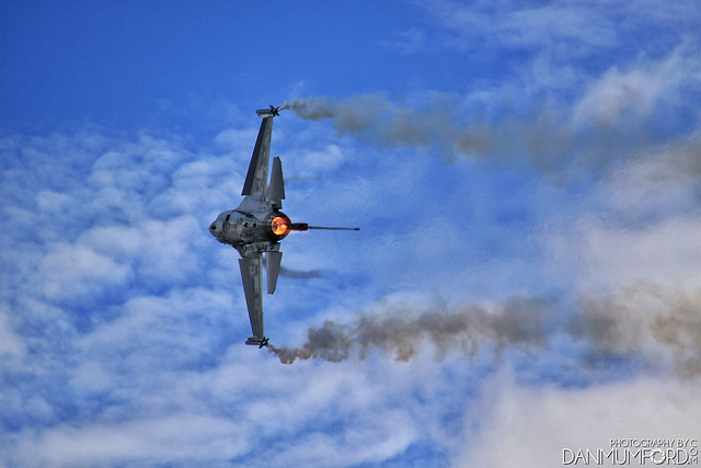 Belgian Air Force F-16, Fighting Falcon Fighter Jet - FA-124