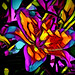 Lily (♣Cleide@.♣) Tags: © ♣cleide♣ brazil 2017 ps6 photo abstract art digital lily flower colors artdigital exotic netartii atree sotn