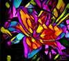 Lily (♣Cleide@.♣ mostly off) Tags: © ♣cleide♣ brazil 2017 ps6 photo abstract art digital lily flower colors artdigital exotic netartii atree sotn