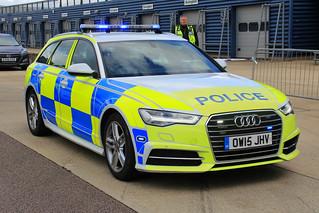 Northamptonshire Police Demonstrator Audi A6 S-Line Quattro Roads Policing Unit Traffic Car