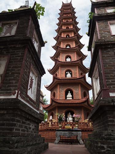 Pagoda Tran Quoc, Hanoi, Vietnam