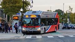 WMATA Metrobus 2016 New Flyer Xcelsior XN40 #2951 (MW Transit Photos) Tags: wmata metrobus new flyer xcelsior xn40