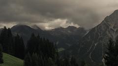 Rainy Times (Netsrak) Tags: kleinwalsertal wolke wolken baum bäume berg berge gebirge wald alpen at österreich mittelberg