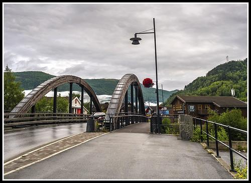Paseando por Noruega: Puente de Vagamo