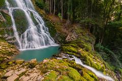 Giessbach falls @ Lake Brienz