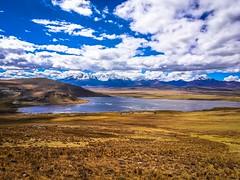 Laguna Conococha in Peru.