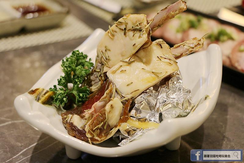 原月日式頂級帝王蟹吃到飽板橋燒烤吃034