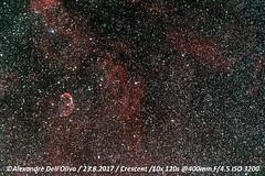 Nébuleuse du Croissant (achrntatrps) Tags: nightshot d5300 nikon photographe photographer alexandredellolivo dellolivo lachauxdefonds suisse nuit night nacht achrntatrps achrnt atrps radon200226 radon etoiles stars sterne estrellas stelle astronomie astronomy nicht noche notte nikkorafs2470mmf28 suivi astrophotographie eosforastro astrotrac320x cygnus cygne caldwell20 emissionnebula nébuleuseenémission hiiregion halpha ngc6888 nébuleuseducroissant crescentnebula bulledewolfrayet caldwell27 sharpless105 astrometrydotnet:id=nova2224773 astrometrydotnet:status=solved
