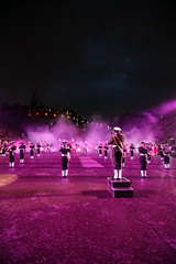 Tattoo 2nd Visit-67 (Philip Gillespie) Tags: 2017 edinburgh international military tattoo splash tartan scotland city castle canon 5dsr crowds people boys girls men women dancing music display pipes bagpipes drums fireworks costumes color colour flags crowd lighting esplanade mass smoke steam ramparts young old cityscape night sky clouds yellow blue oarange purple red green lights guns helicopter band orchestra singers rain umbrella shadows army navy raf airmen sailors soldiers india france australia battle reflections japan fire flames celtic clans