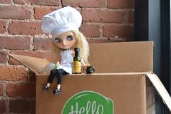 BaD September  2017 Good Food (Libby Sherman-Kuhn) Tags: blythe day september pistachiolibby pistachio libby fiona meal box good food