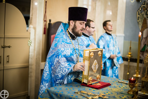 Божественная литургия в Неделю 13-ю по Пятидесятнице