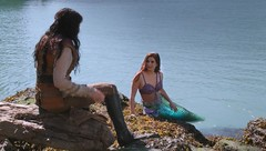 Ariel and Snow White (Guardian Screen Images) Tags: mary margaret blanchard snow white ginnifer goodwin princess once upon time tv show series magic 2011 enchanted forest ariel the little mermaid ocean water under sea joanna garcia swisher tail