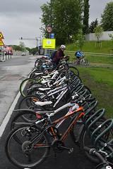 Åpning Bromstadvegen 0526 (Miljøpakken) Tags: miljøpakken miljopakken trondheim skole skolebarn sykling skoleveg sykkelparkering parkering sykkel