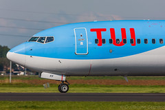 Boeing 737-800 TUI Airlines Netherlands PH-TFF cn 35220/2406 (Guillaume Besnard Aviation Photography) Tags: eham ams amsterdamschiphol schipholairport canoneos canonef500f4lisusm canoneos1dsmarkiii boeing737800 tuiairlinesnetherlands phtff cn352202406 boeing737 arke arkefly