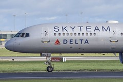 N717TW         B757-231        Delta Airlines Sky Team Livery (Gormanston spotter) Tags: boeing dub eidw avgeek gormanstonspotter b757 b757231 deltaairlines skyteamlivery n717tw
