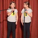 Grace & Kaela Telling Jokes On Stage thumbnail