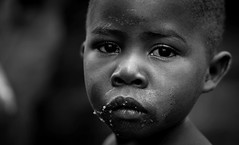 Kid (gunnisal) Tags: portrait uganda africa bw child kid blackandwhite monochrome face eyes gunnisal