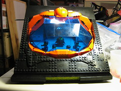 SHIPtember 2017 Finial WIP Session 26f (DJ Quest) Tags: shiptember 2017 finial wip session 26 spyrius space ship moc bridge section work