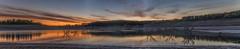 Reflejos. (Amparo Hervella) Tags: embalsedebuendía guadalajara españa spain paisaje embalse nube reflejo naturaleza anochecer color largaexposición d7000 nikon nikond7000 comunidadespañola nwn