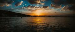 (dariosebekphotography) Tags: sunset sunrise dawn sundown redsky burningsky afterglow twilight dusk purplesky orangesky colourfulsky sky clouds sun water sea seascape summer travel evening night longexposure reflection croatia adria kroatien