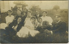 1907 or so - probably schoolmates