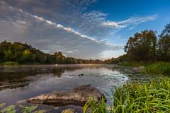 20170917-IMG_3444 (Vladyslav Kucheruk) Tags: landscape sluch ua ukraine clouds fog forest outdoor river sky sunrise rocks
