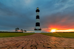 Another Cloudy morning (MrLoveland) Tags: sunrise sun morning lighthouse lighthouses clouds cloud cloudy grass beach shore architecture wideangle wide building structure light dawn summer vacation holiday travelphotography travel bodieisland obx outerbanks northcarolina canon 70d colors color beautiful landscape