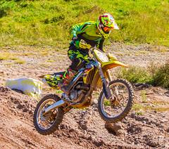 Jumping A Suzuki (John Kocijanski) Tags: motocross motorcycle vehicle race sport people canon70300mmllens canon7d dirtbike