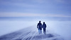 Maiko & Andrew (LalliSig) Tags: engagement photoshoot iceland photographer snæfellsnes blue winter snow cold ice