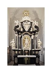 Christuskirche Burghaun - Altar - In Explore (Uli He - Fotofee) Tags: ulrike ulrikehe uli ulihe ulrikehergert hergert nikon nikond90 fotofee kirche christuskirche burghaun christuskircheburghaun altar