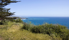 Ragged Point view (LunarKate) Tags: us usa united states america unitedstates unitedstatesofamerica west coast westcoast cali california central beach beauty beautiful landscape seascape pacific ocean water highway 1 highway1 nikon d40 dslr may 2016 solo travel traveling