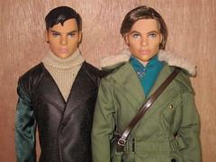 Steve Trevor from Wonder Woman / Tag: Blue Eyes (Still Museum) Tags: barbie doll diana prince stevetrevor dccomics galgadot chrispine